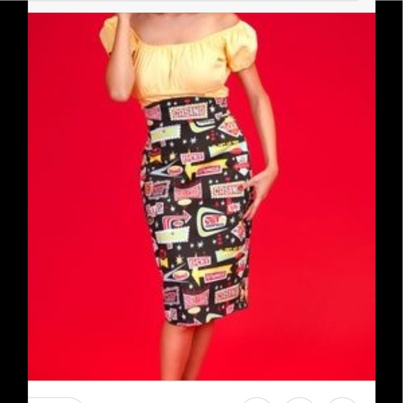 Pinup Couture Dresses & Skirts - NWT pencil skirt